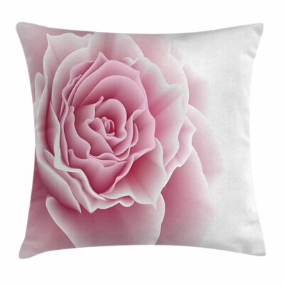 Romantic Bouquet Square Pillow Cover Size: 18 x 18