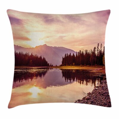 Jackson Lake Pillow Cover Size: 24 x 24