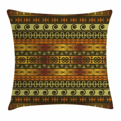 Traditional Ceremonial Square Pillow Cover Size: 18 x 18