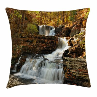 United States Cascade Delaware Square Pillow Cover Size: 16 x 16