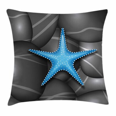 Starfish Decor Sea Star Square Pillow Cover Size: 16 x 16