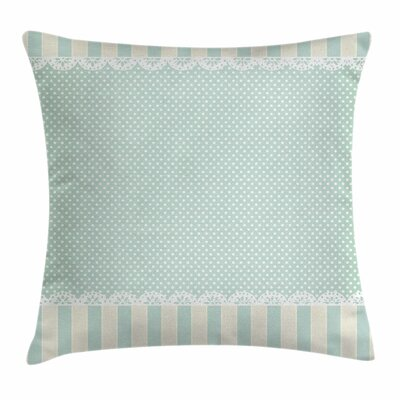 Ornament Dots Square Pillow Cover Size: 24 x 24