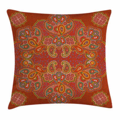 Persian Paisley Square Pillow Cover Size: 16 x 16