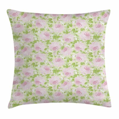 Spring Yard Square Pillow Cover Size: 18 x 18