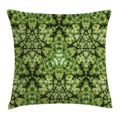 Tie Dye Bohemian Art Square Pillow Cover Size: 24 x 24
