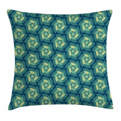 Ethnic Triangles Square Pillow Cover Size: 24 x 24
