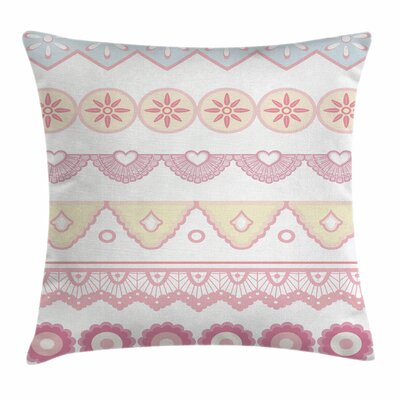 Soft Flourish Square Pillow Cover Size: 20 x 20