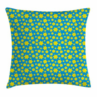 Stars Spiritual Square Pillow Cover Size: 24 x 24