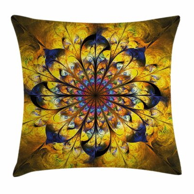 Asian Square Pillow Cover Size: 16