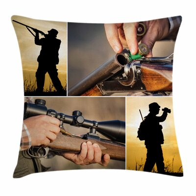 Activity Outdoors Square Pillow Cover Size: 18 x 18
