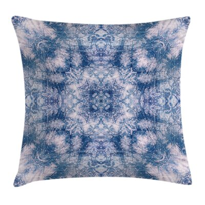 Bohemian Oriental Pattern Square Pillow Cover Size: 18 x 18