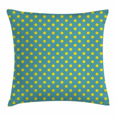 Dots Square Pillow Cover Size: 24 x 24