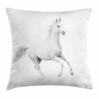 Stallion Square Pillow Cover Size: 18 x 18