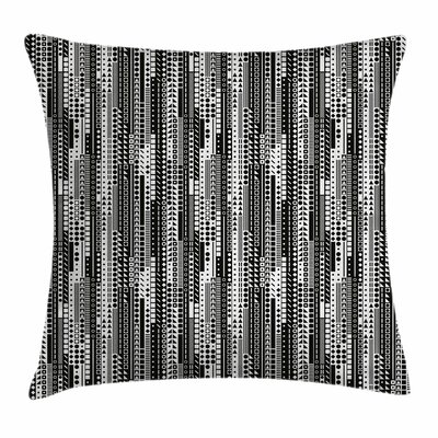 Geometrical Square Pillow Cover Size: 16 x 16