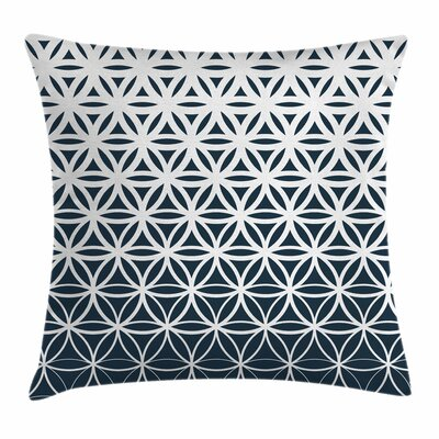 Curves Square Pillow Cover Size: 16 x 16