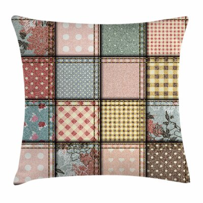Shabby Elegance Decor Square Pieces Square Pillow Cover Size: 16 x 16