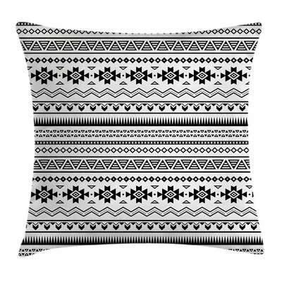 Aztec Folk Art Square Pillow Cover Size: 20 x 20