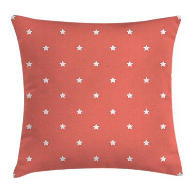 Stars Figures Outer Square Pillow Cover Size: 16 x 16