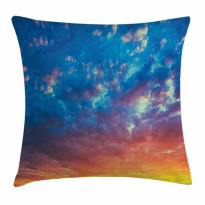Sky Square Pillow Cover Size: 16 x 16