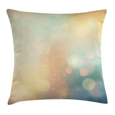 Abstract Ocean Themed Sunbeams Pillow Cover Size: 18 x 18