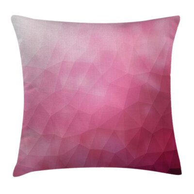 Shades Fragments Gradient Pillow Cover Size: 16 x 16