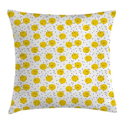 Big Circles Pillow Cover Size: 18 x 18