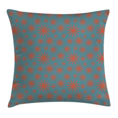 Floral Vintage Inspired Pillow Cover Size: 18 x 18