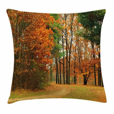 Fall Decor Cloudy Day September Square Pillow Cover Size: 24 x 24