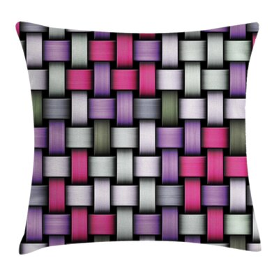 Abstract Knot Pattern Yarns Pillow Cover Size: 16 x 16