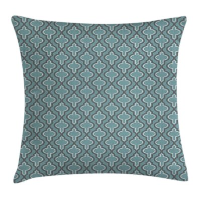 Ethnic Rounds Square Pillow Cover Size: 18 x 18