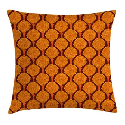 Tree Abstract Forest Modern Art Pillow Cover Size: 24 x 24