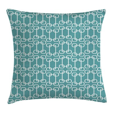 Retro Squared Rounds Square Pillow Cover Size: 24 x 24
