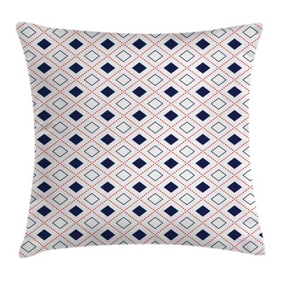 Modern Decor Geometrical Square Pillow Cover Size: 18 x 18