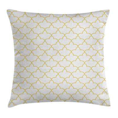 Quatrefoil Moroccan Style Shape Pillow Cover Size: 24 x 24