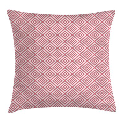 Hexagonal Shapes Pillow Cover Size: 24 x 24