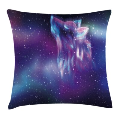 Nature Northern Aurora Borealis Pillow Cover Size: 24 x 24