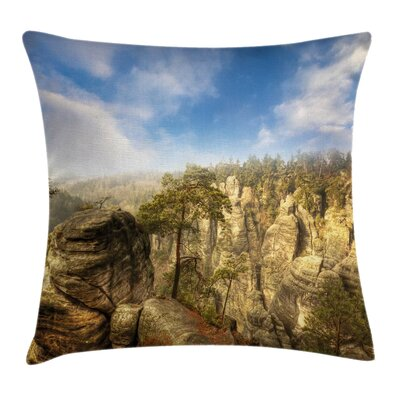 Nature Park Pillow Cover Size: 24 x 24