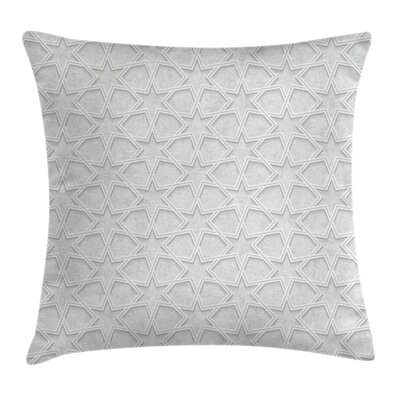 Quatrefoil Persia Ethnic Design Pillow Cover Size: 18 x 18