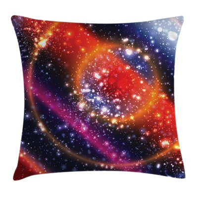 Space Apocalyptic Cosmos Sky Pillow Cover Size: 18 x 18