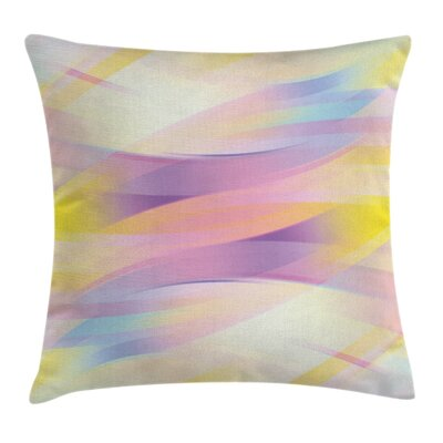 Digital Shady Artistic Gradient Pillow Cover Size: 18 x 18
