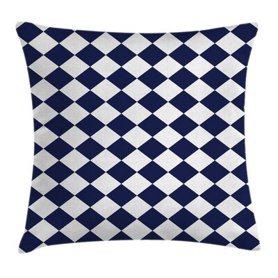 Old Home Tile Inspired Square Pillow Cover Size: 16 x 16