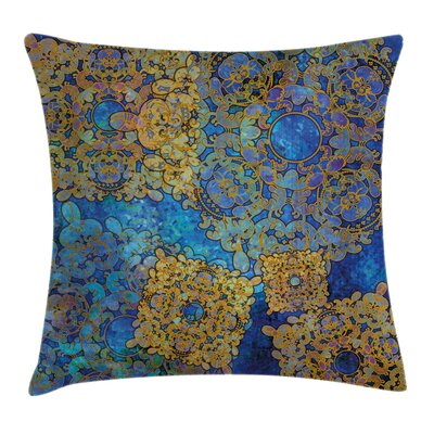 Moroccan Persian Motif Bohemian Pillow Cover Size: 20 x 20