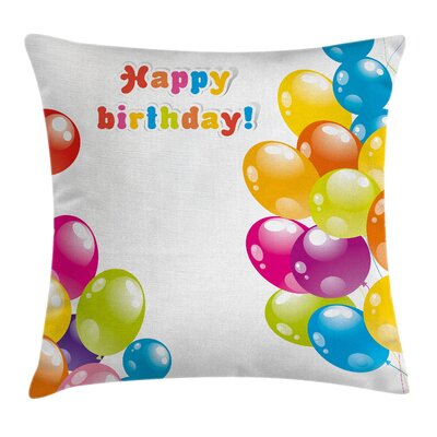 Occasion Surprise Joy Square Pillow Cover Size: 16 x 16