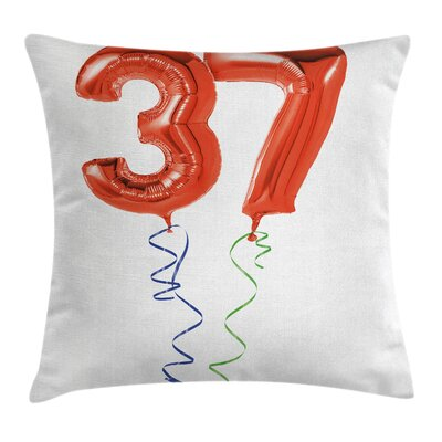 Birthday Older It Gets Surprise Square Pillow Cover Size: 18 x 18