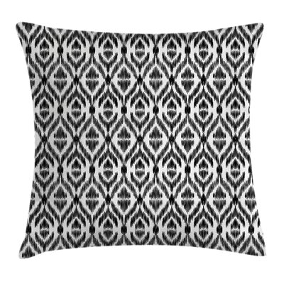 Tribal Sketchy Seem Rectangular Pillow Cover Size: 24 x 24