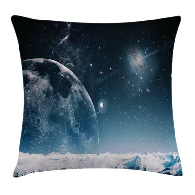 Universe Another World Infinity Pillow Cover Size: 16 x 16