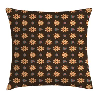 Summer Time Flower Pillow Cover Size: 18 x 18