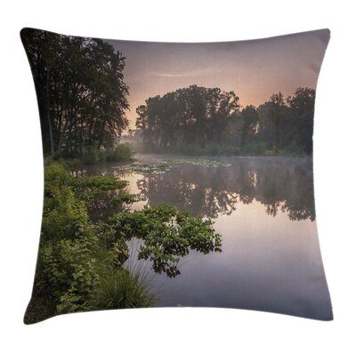 Forest Lake Natura Netherlands Pillow Cover Size: 24 x 24