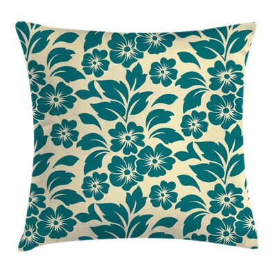 Shabby Elegance Flower Bloom Spring Pillow Cover Size: 24 x 24