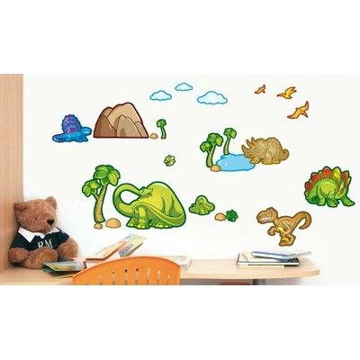 25 Piece Dinosaurs 2 Wall Decal StickKid104